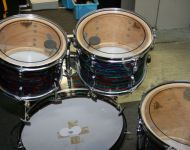 Ludwig Psychedelic red 1971